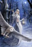 Anne Stokes - Midnight Messenger- Yuletide greetings card